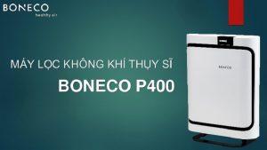 Máy lọc không khí BONECO P400 là cỗ máy hoàn hảo để không gian gia đình bạn thêm sạch sẽ