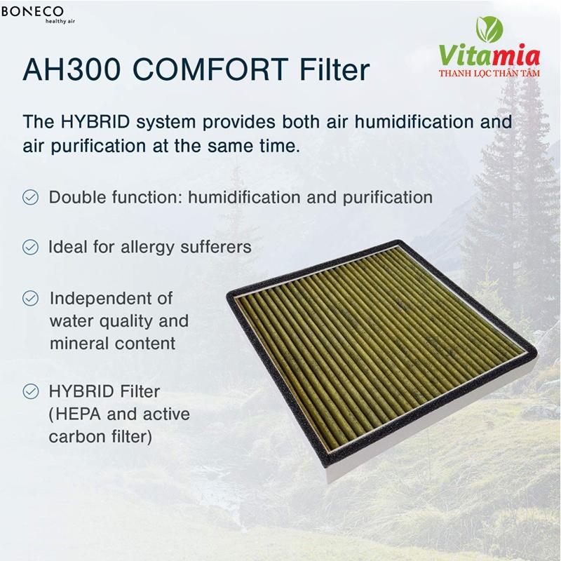 Bộ lọc không khí Comfort AH300 – Sản phẩm tích hợp 4 chức năng trong 1
