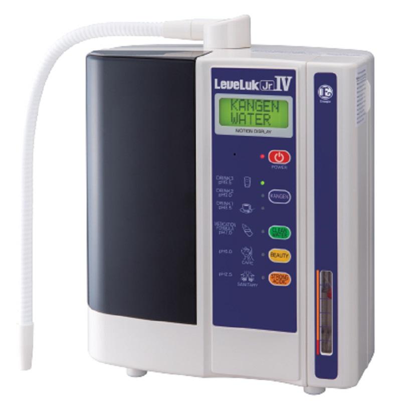 Kangen JRIV hiểu đơn giản là mẫu thiết bị lọc nước liên hoàn được trang bị 4 tấm điện cực