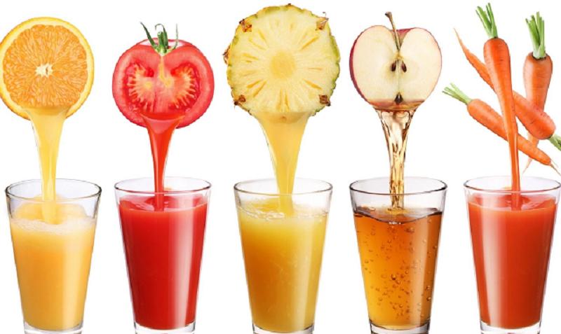 Nước ép trái cây có chứa nhiều đường hơn nước lọc