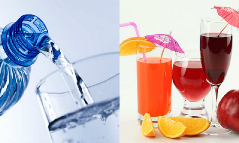 Nước lọc hay nước ép trái cây tốt hơn cho sức khỏe?