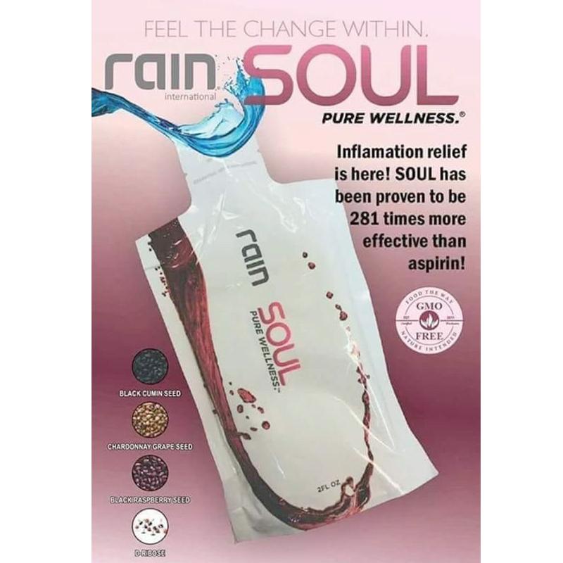 Gói Sản Phẩm Rain Soul Dùng Thử (6 Túi 60ml)