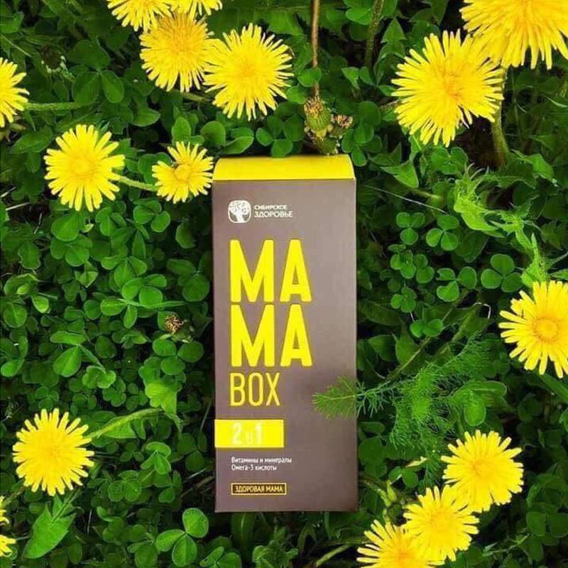 Mama Box - Vitamin và khoáng chất từ thiên nhiên dành cho bà bầu