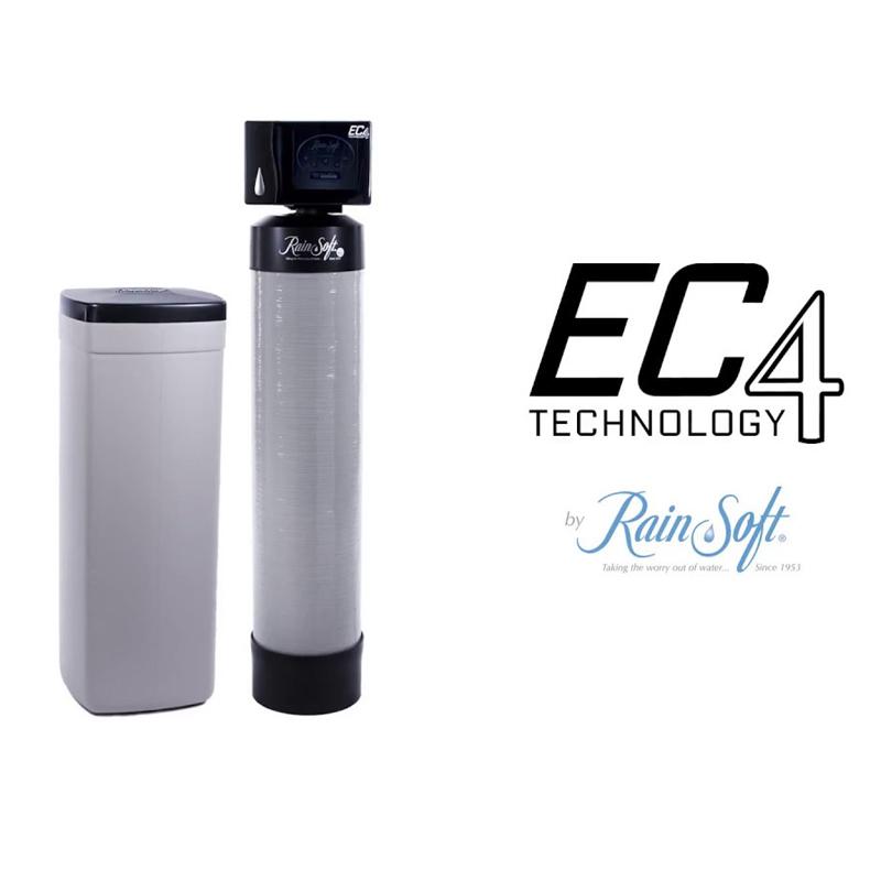 Máy làm mềm nước Rainsoft điện tử EC4 Cab 60 SS CV 2 in 1 (Resign + muối hoàn nguyên)