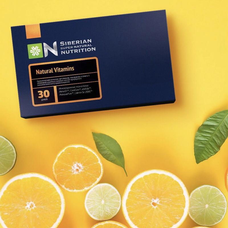 Natural Vitamins – Dinh dưỡng siêu tự nhiên từ Siberian