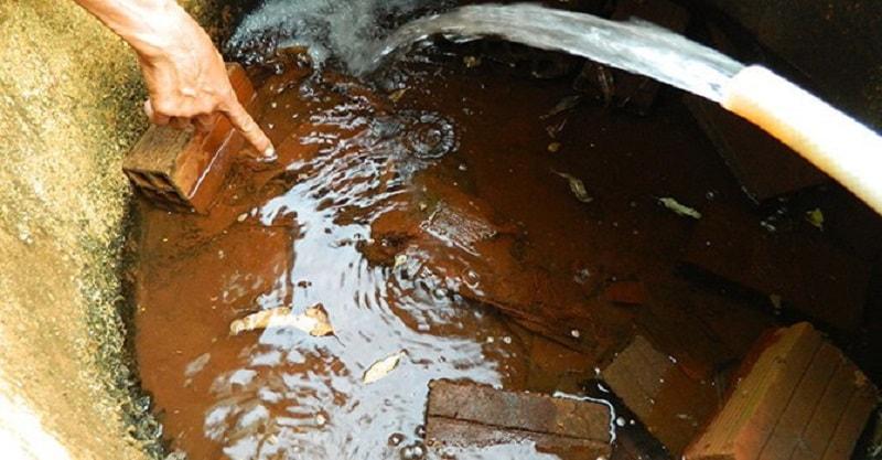 Nguồn nước bị nhiễm Asen