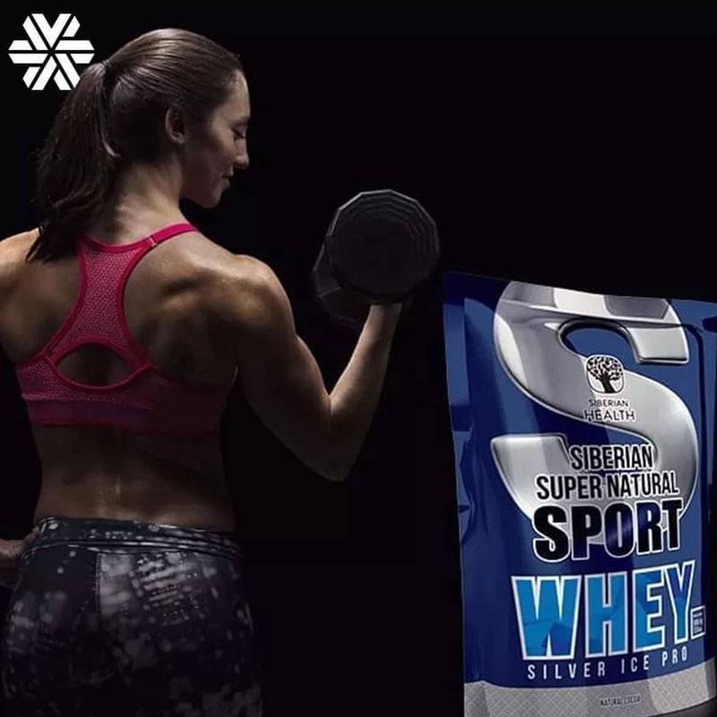 Siberian supernatural sport whey silver ice pro – Hỗ trợ tăng cơ bắp cho người chơi thể thao