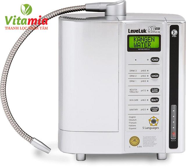 Theo bảng báo giá mới nhất của Vitamia.com.vn, giá của mỗi chiếc máy lọc nước Kangen Platinum sẽ là 116 triệu đồng