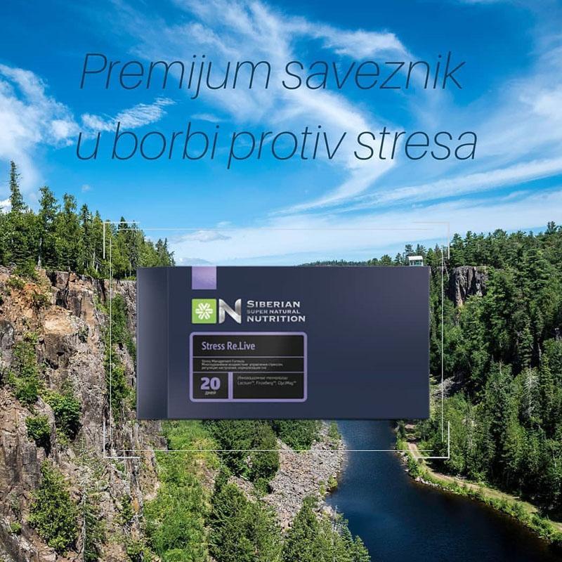 Thực phẩm chức năng Siberian Super Natural Nutrition. Stress Re.live – Giúp bạn giảm căng thẳng, ngủ ngon mỗi ngày