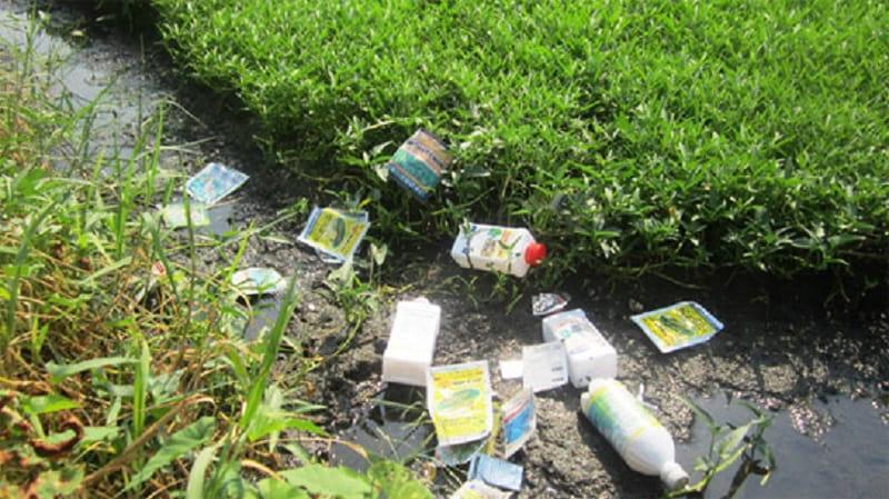 Tồn dư thuốc trừ sâu thuốc diệt cỏ chứa Asen