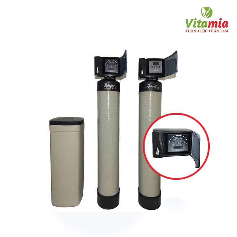 máy lọc nước tổng và làm mềm nước Rainsoft-150CV điện tử EC4