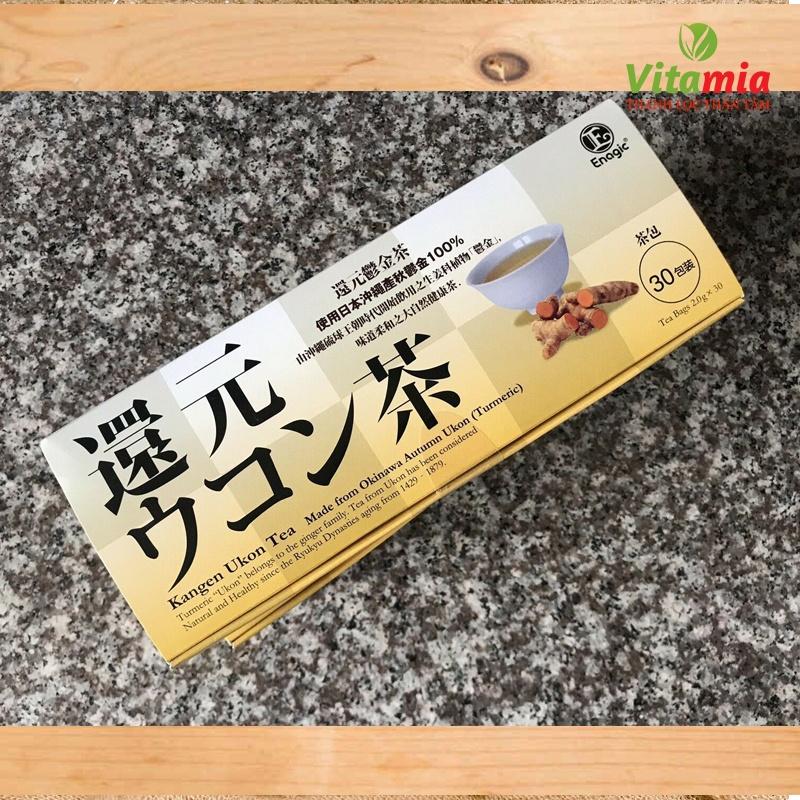 trà nghệ Ukon nhập khẩu chính hãng Nhật Bản