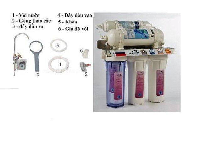 Cấu tạo chi tiết của loại máy lọc nước Alkaline
