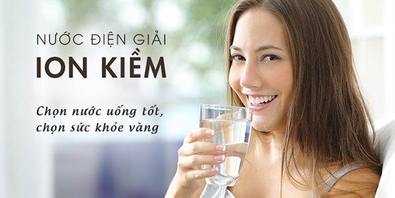 Công nghệ lọc nước ion kiềm là công nghệ hiện đại và tốt nhất cho sức khỏe