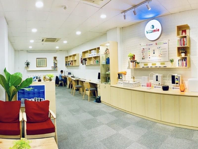 Cửa hàng Vitamia có chi nhánh tại nhiều tỉnh thành