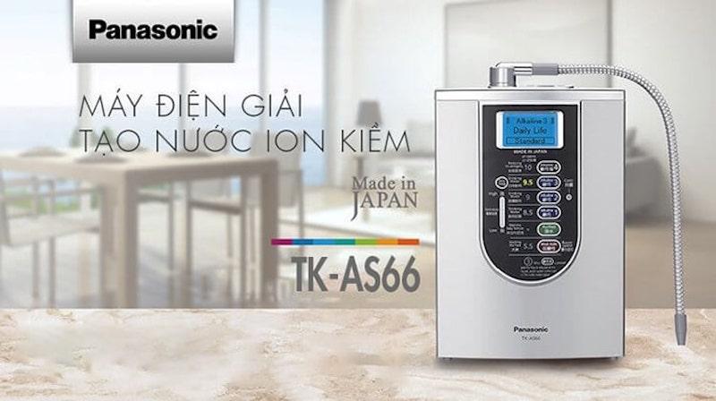 Máy lọc nước ion kiềm Panasonic TK AS66