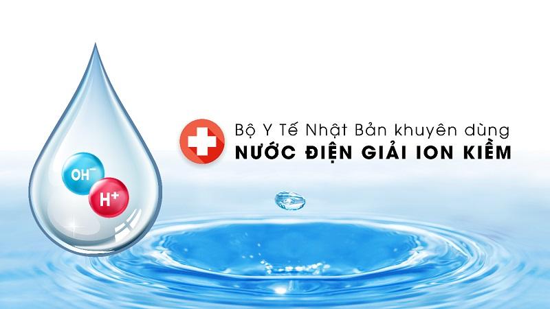 Nước ion kiềm được tạo ra từ chính máy lọc nước ion kiềm