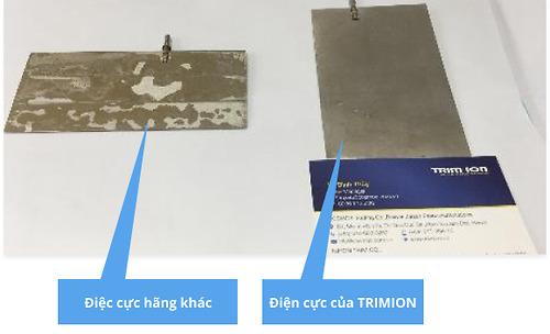 Công nghệ phủ titan giúp duy trì tuổi thọ của máy lọc nước Trim ion